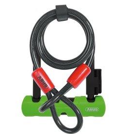 """ABUS Ultra 410 U-Lock Mini LS + Cobra 10/120: 7"""""""