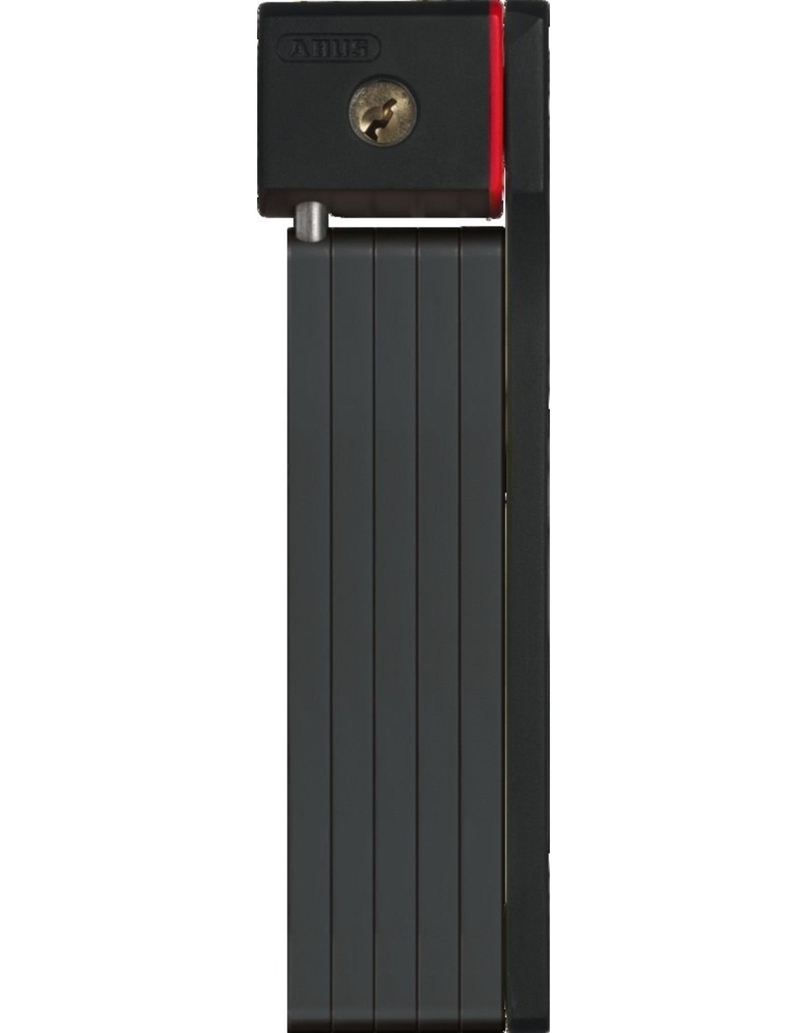 Abus ABUS Bordo uGrip 5700/80 black (5mm steel plates / 2.6' length)