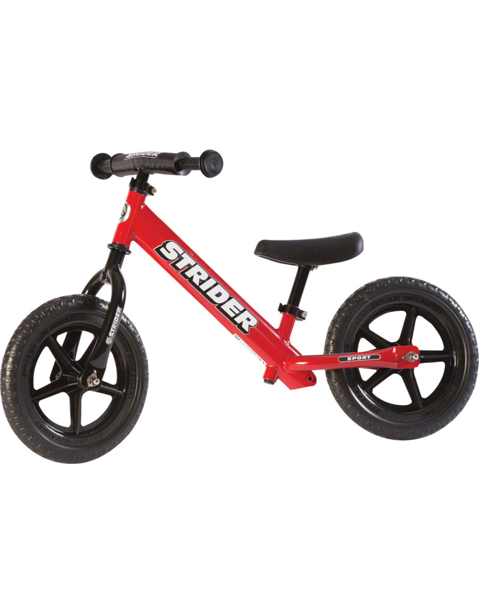Strider 12 Sport Kids Balance Bike: Red