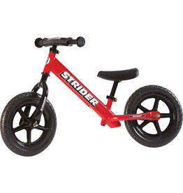 Strider 12 Sport Kids Balance Bike: Red