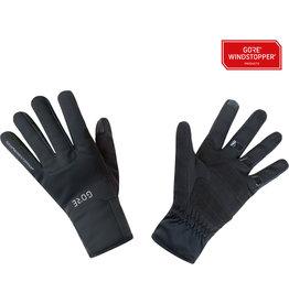 GORE GORE M WINDSTOPPER® Thermo Gloves - Black, Full Finger