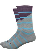 DeFeet Mondo Tieon Socks - 7 inch, Lead/Purple