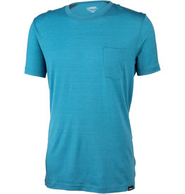 Surly Surly Merino Pocket T-Shirt: Blue SM