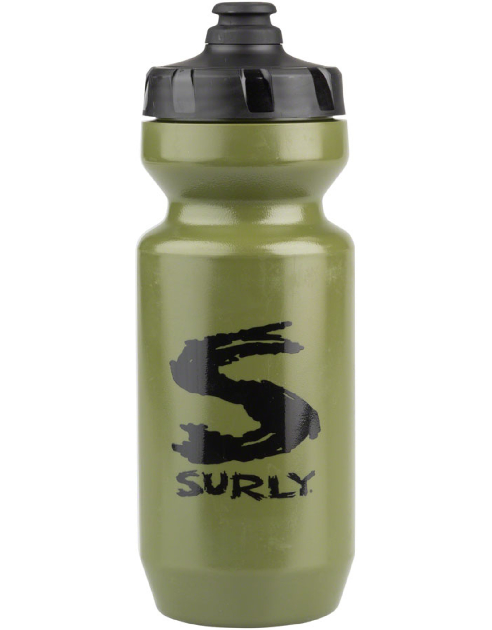 Surly Surly Big S Purist Water Bottle Green, Black 22oz