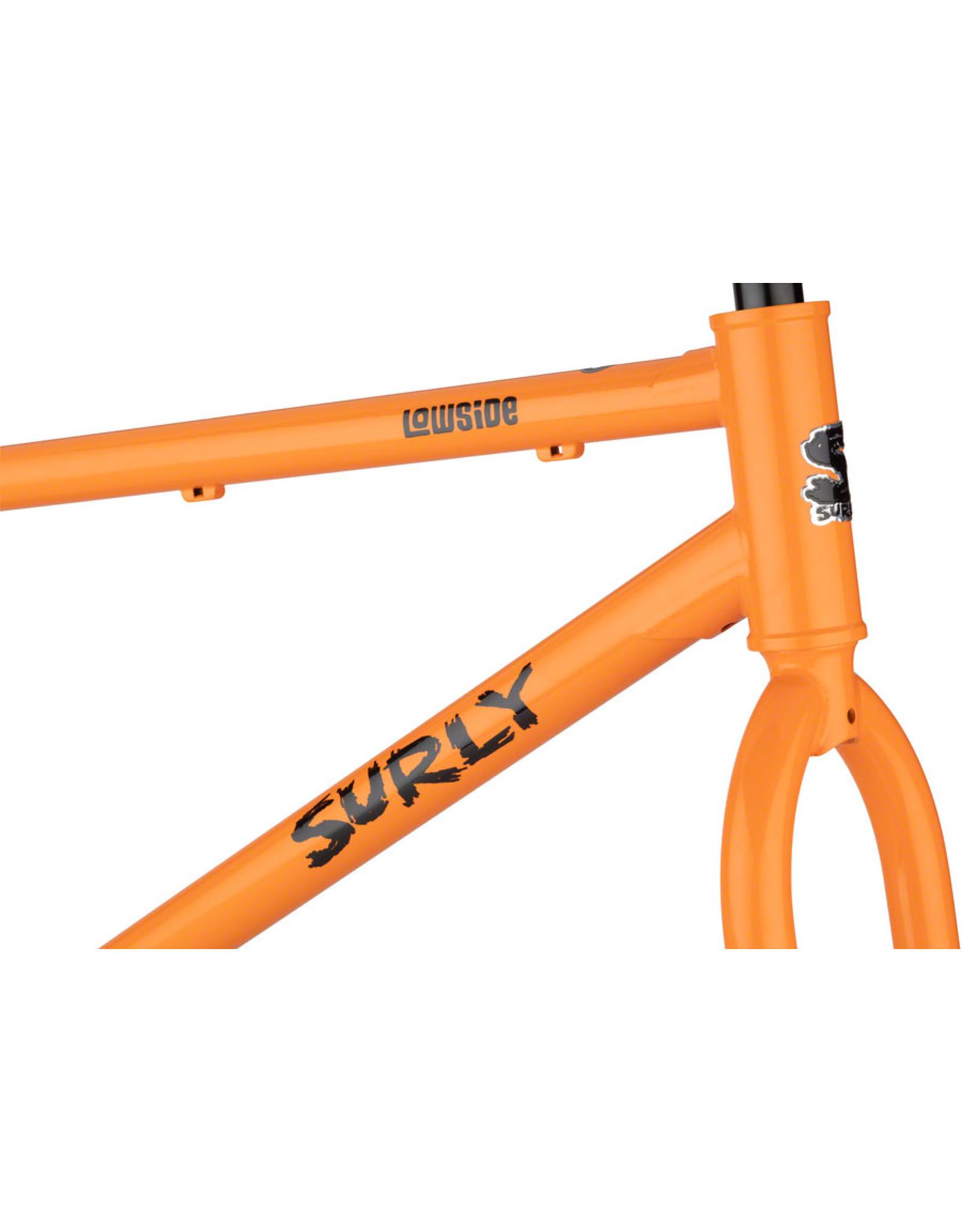 "Surly Surly Lowside Frameset - 27.5"", Steel, Dream Tangerine"