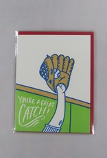 Bench Pressed Great Catch Card