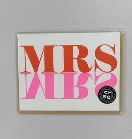 Egg Press Inc Mrs. Mrs. Card