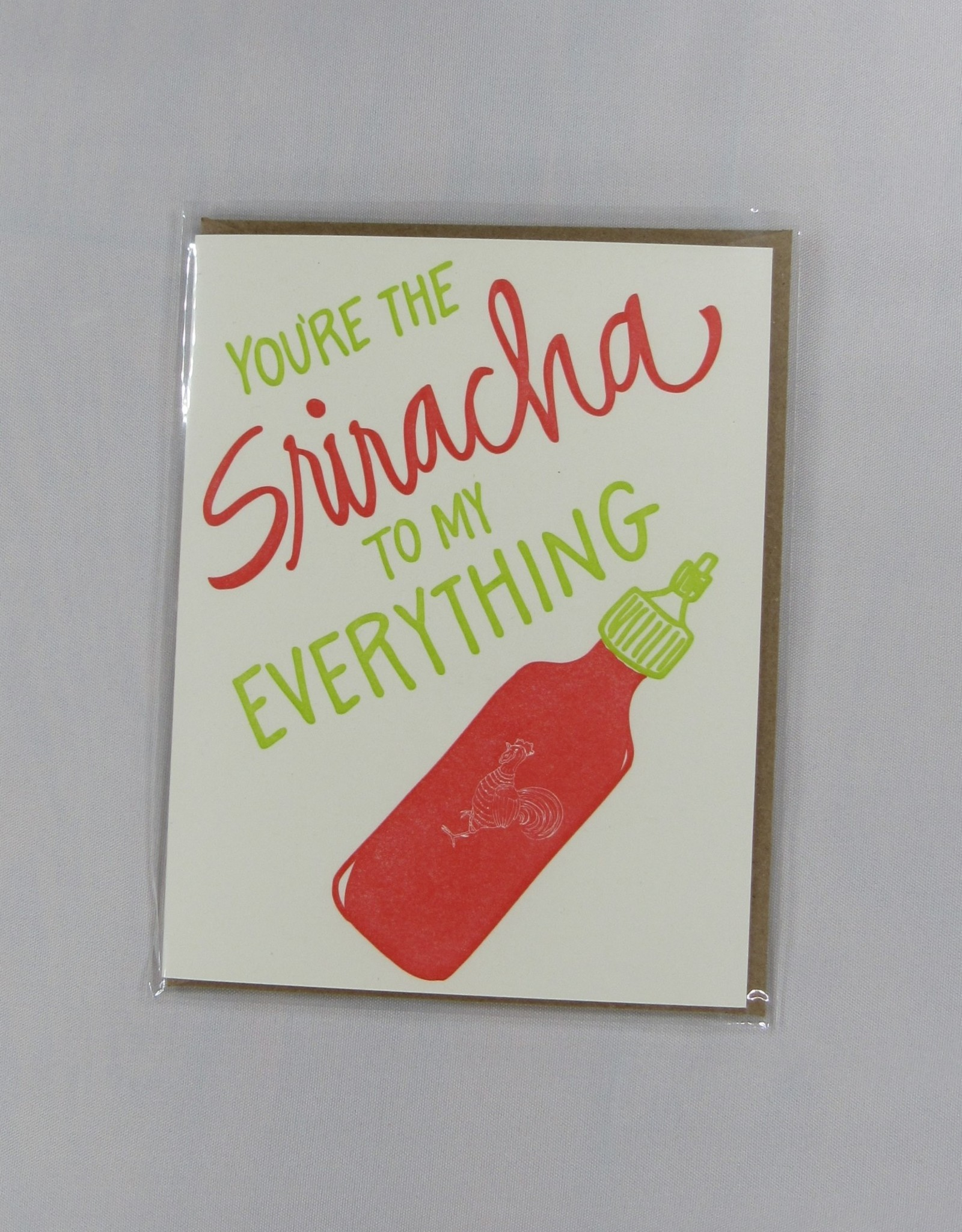 9th Letter Press Sriracha