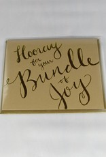 9th Letter Press Bundle of Joy Card