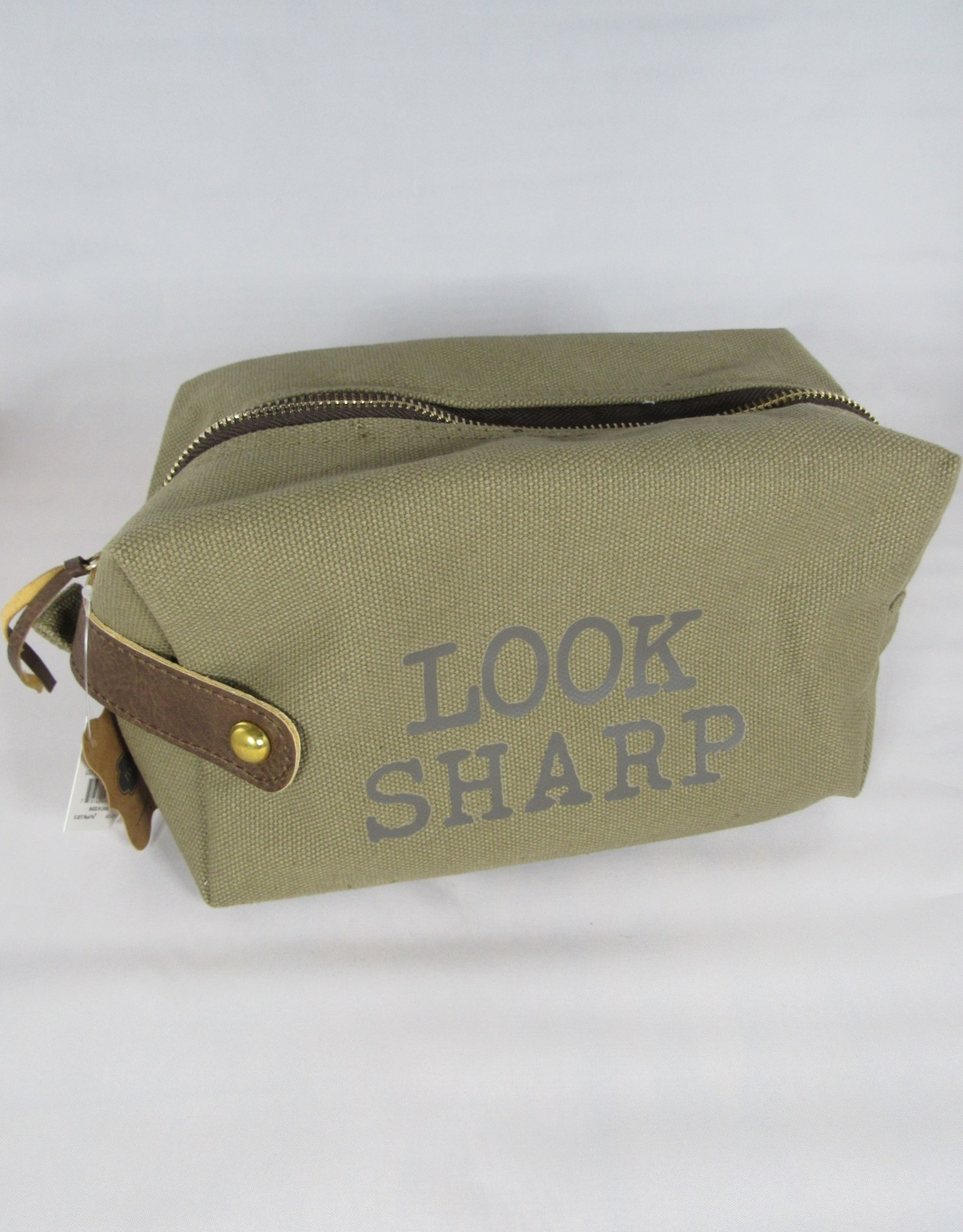Mud Pie Look Sharp Mens Dopp Kit