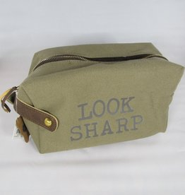 Mud Pie Look Sharp Mens Dopp Kit