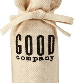 Mud Pie GOOD COMPANY WINE BAG