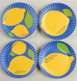 Wink Lemon Coaster Melamine  4 pack