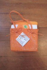 Wink Citrus Dish Towel/2 in Basket