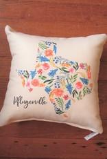 Wink Pflugerville Bluebonnet Pillow
