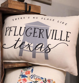 Wink Pflugerville Texas Pillow-Water Tower