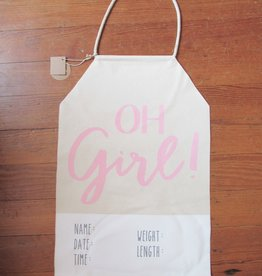 Mud Pie OH GIRL BANNER
