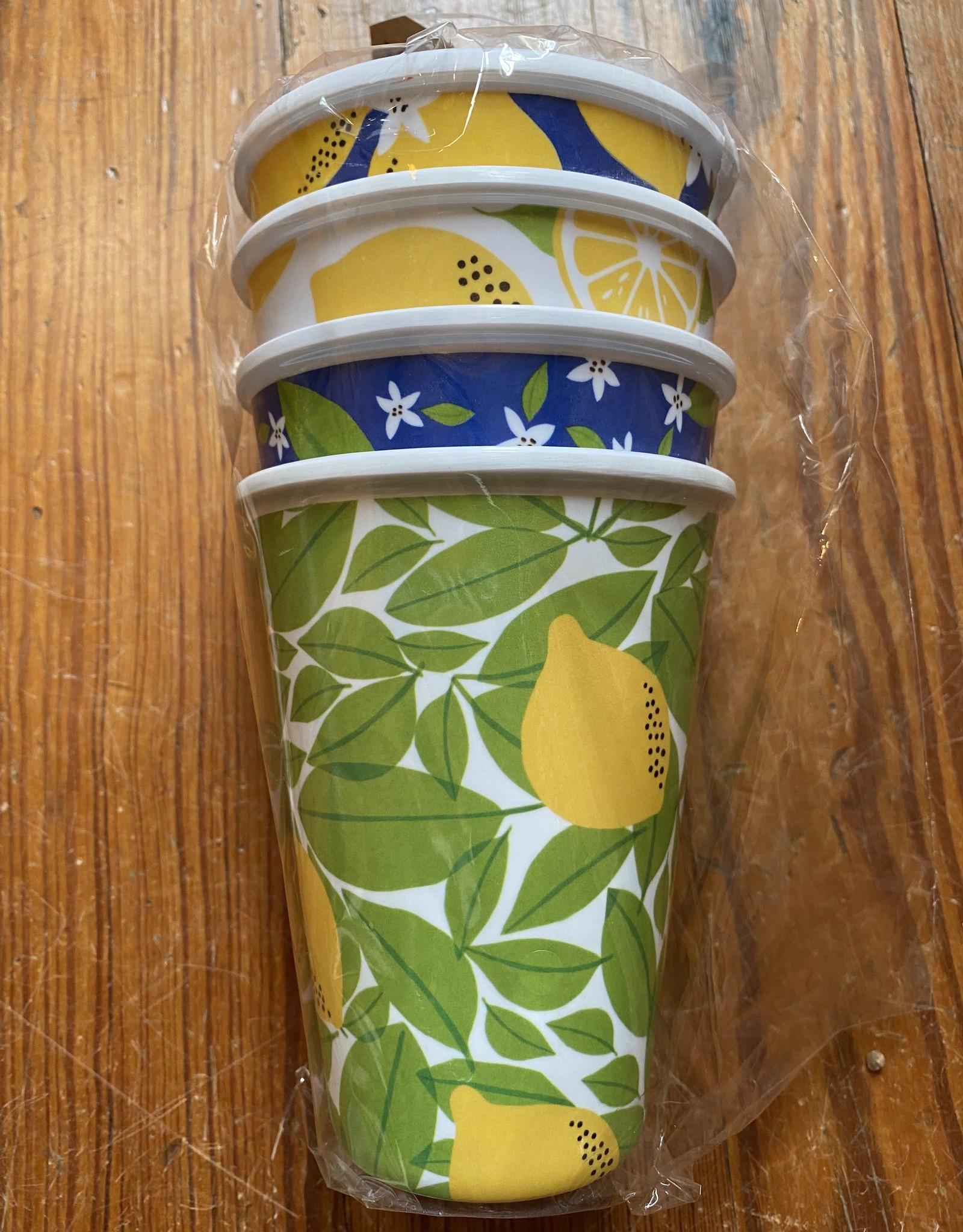 Wink Lemon Cup 4pk Melamine