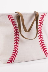 Wink Baseball Classic Jute Bag