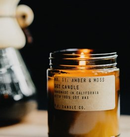 P.F. Candle Co. Amber and Moss Soy Candle