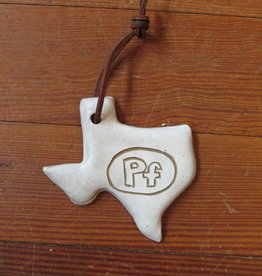 Clay Works by Sally PF Texas Ornament