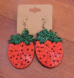 Wink Strawberry Earrings