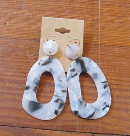 Wink Cutout Drop Earring