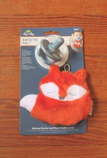Itzy Ritzy Plush Fox with Pacifier