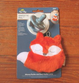 Plush Fox with Pacifier