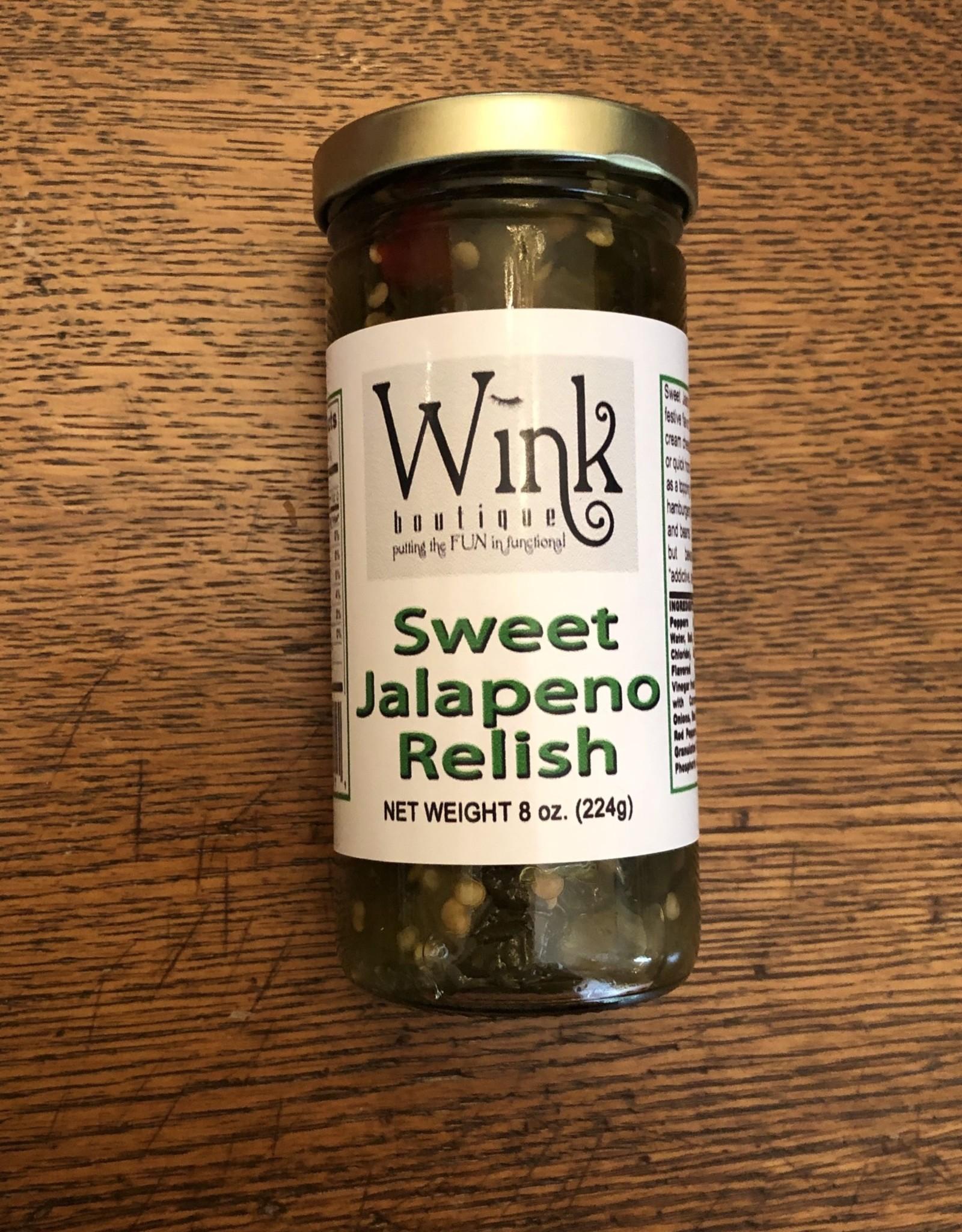Wink Sweet Jalapeno Relish