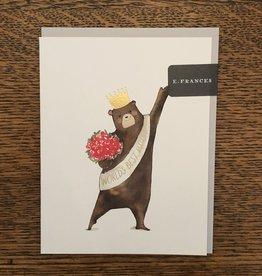 E Frances Paper Mama Bear Card