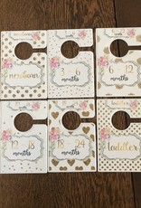 Wink Floral White Closet Dividers