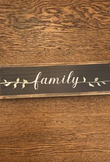Mud Pie Family Word Wall Art