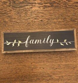 Mud Pie Family Word Wall Art