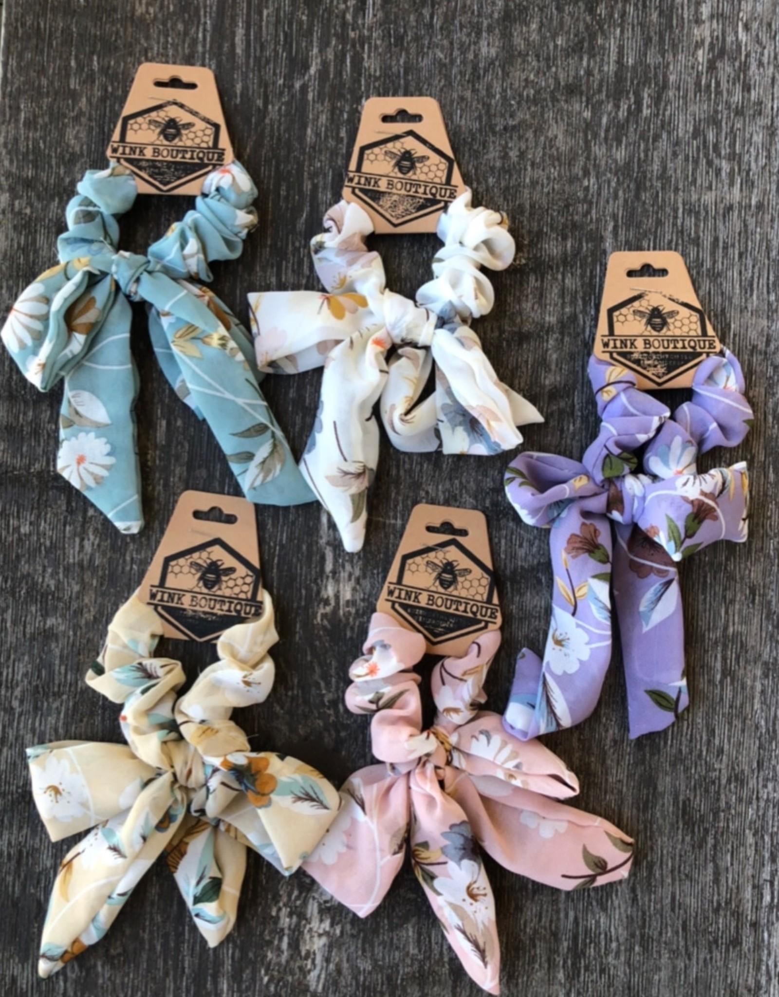 Wink Floral Hair Tie