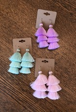 Local Three tiered tassel Earrings