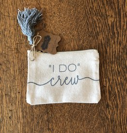 Mud Pie I Do Crew Canvas Pouch