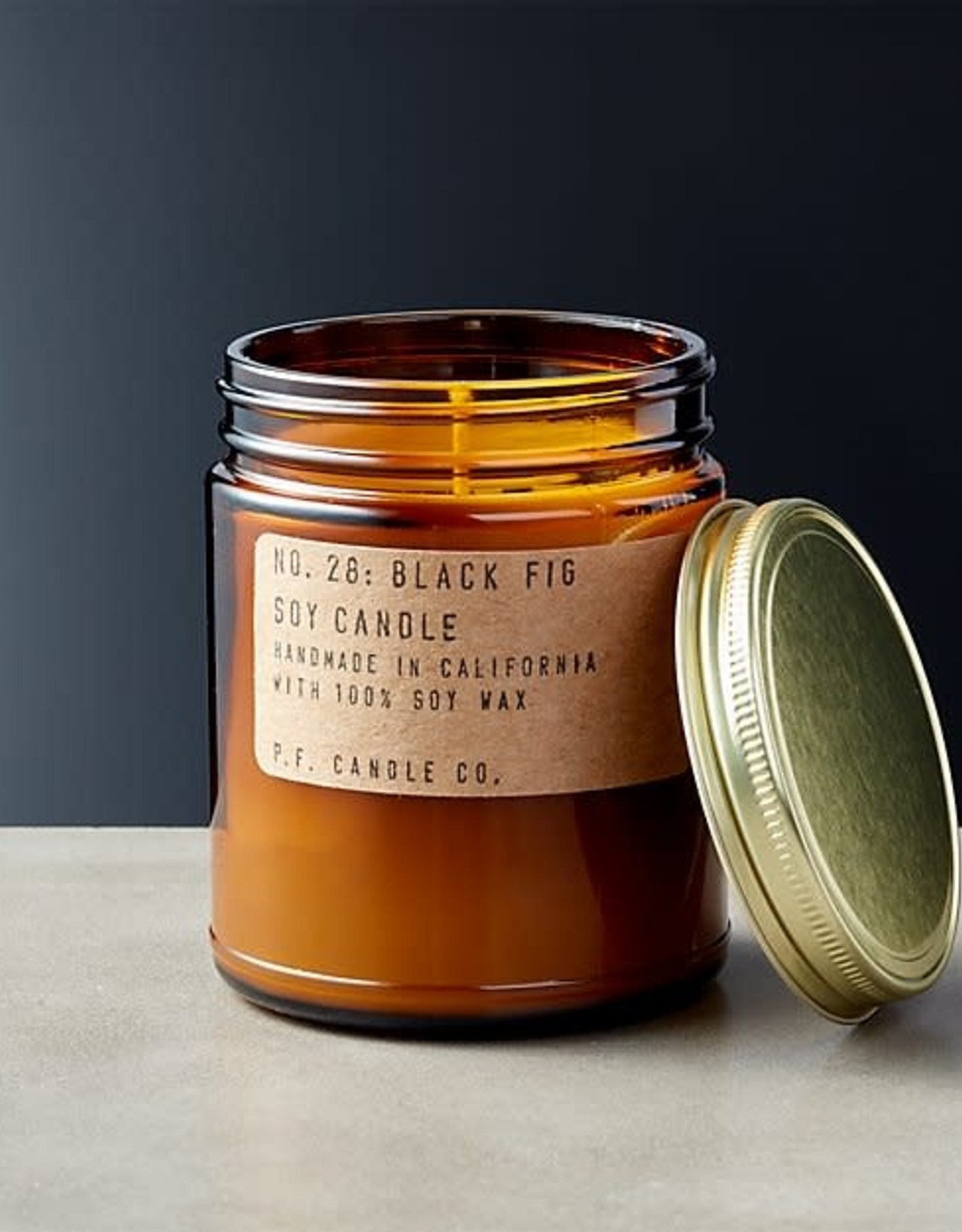P.F. Candle Co. Black Fig Soy Candle