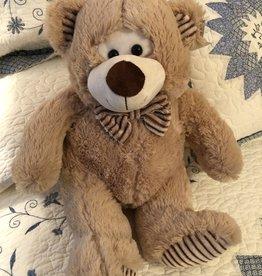 Wink Beige Bear with Bowtie