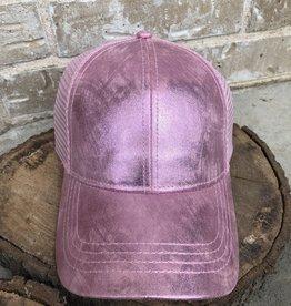 Wink Ball Cap-Pink