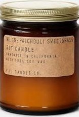 P.F. Candle Co. Patchouli Sweetgrass Soy Candle