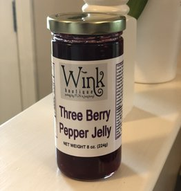 Wink Three Berry Pepper Jelly