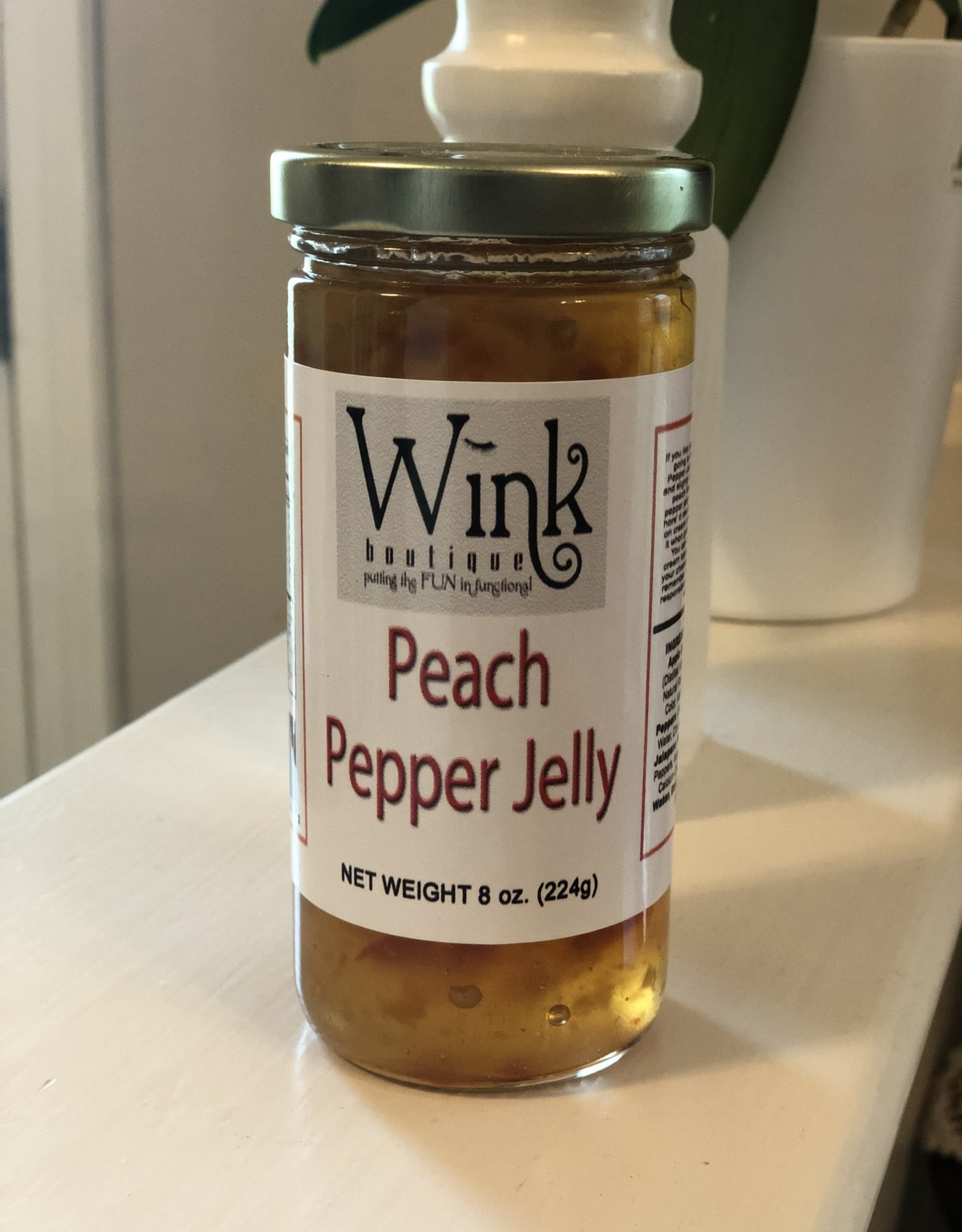 Wink Peach Pepper Jelly