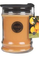 Bridgewater 8 oz. Orange Vanilla Jar Candle
