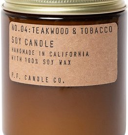 P.F. Candle Co. Teakwood & Tobacco Soy Candle