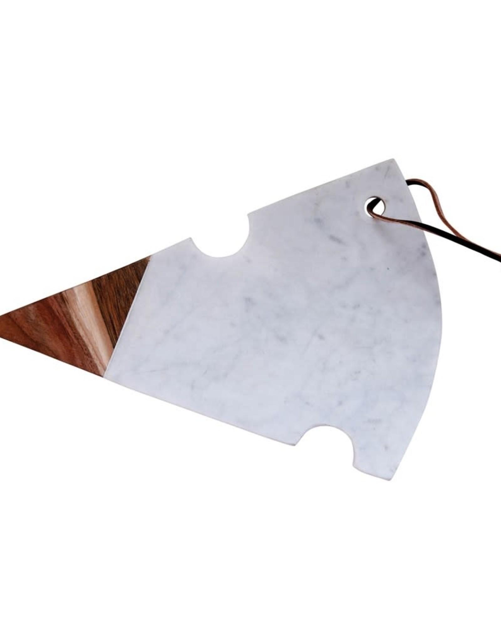 Wink Marble/Acacia Cheese Board