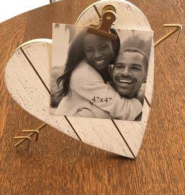 Wink Wood Heart Frame