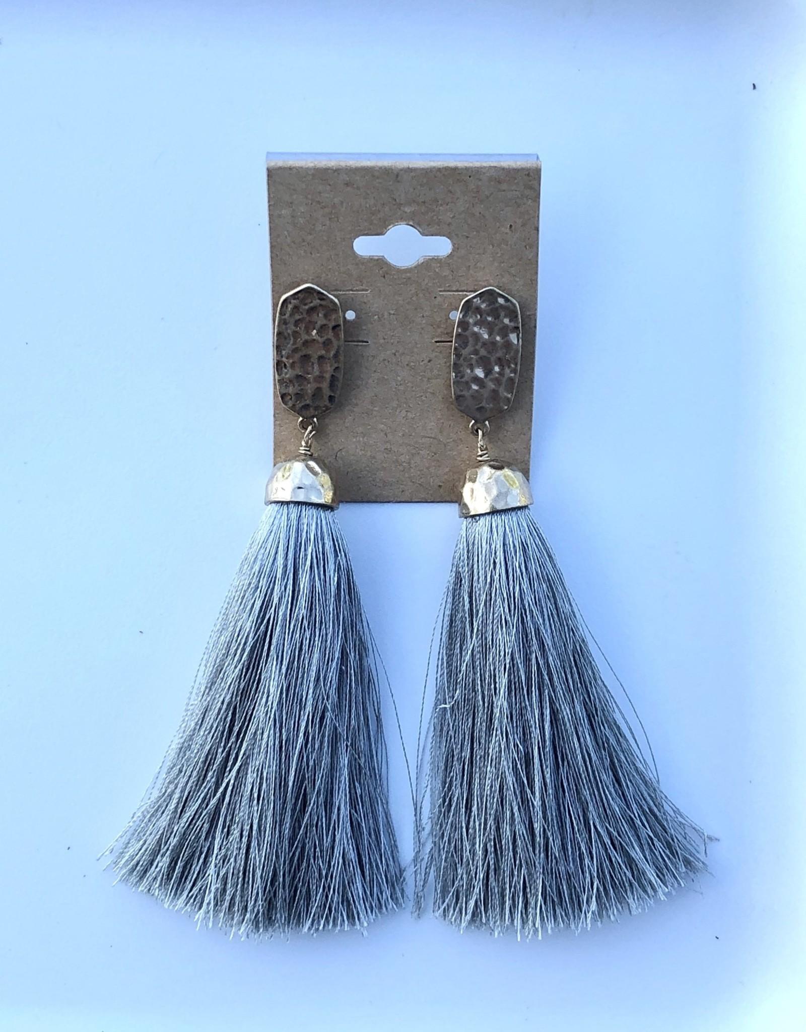 Wink Tassel Earrings