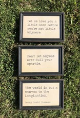 Wink Quote Wall Decor