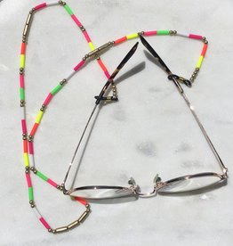 Wink Hot Pink Multi Glasses Lanyard